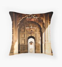 Mughal Architecture Throw Pillow