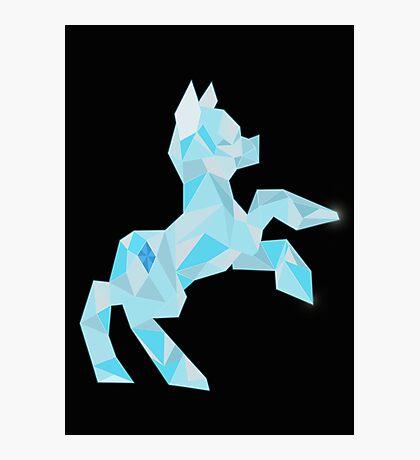 Crystal Pony (maybe Diamond I dunno) Photographic Print