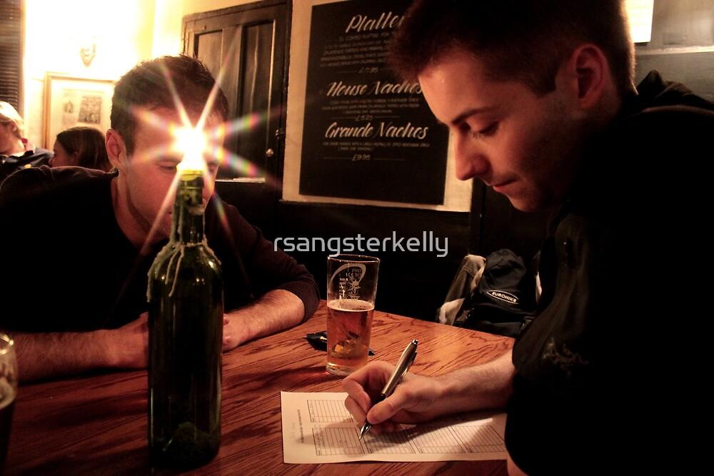Quiz Night At Ye Old Bev Pub by rsangsterkelly