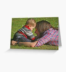 """ I Love My Mummy ...!!!"" Greeting Card"