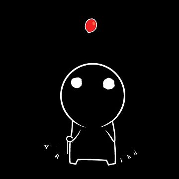 Shadow Guy and Red Balloon by PinataJohn
