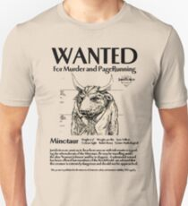 Wanted minotaur T-Shirt