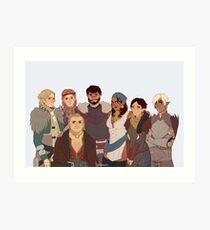 Dragon Age II Art Print