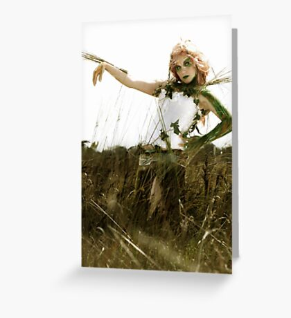 stuck in a world i don't belong Greeting Card