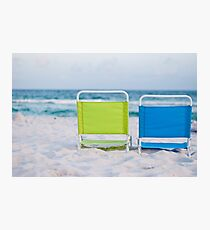 If I were a chair... Photographic Print