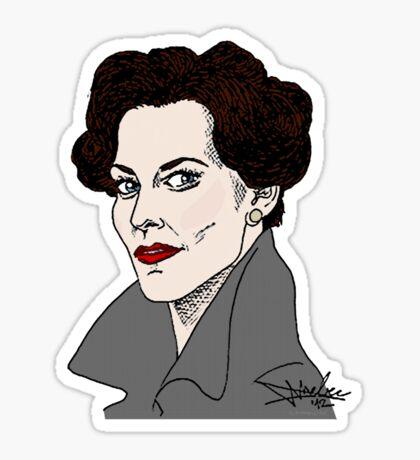 Miss Adler: Brainy/Sexy Sticker