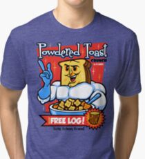 Powdered Toast Crunch Tri-blend T-Shirt