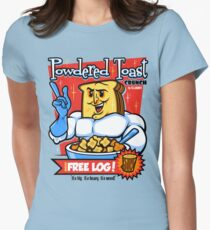 Powdered Toast Crunch Women's Fitted T-Shirt