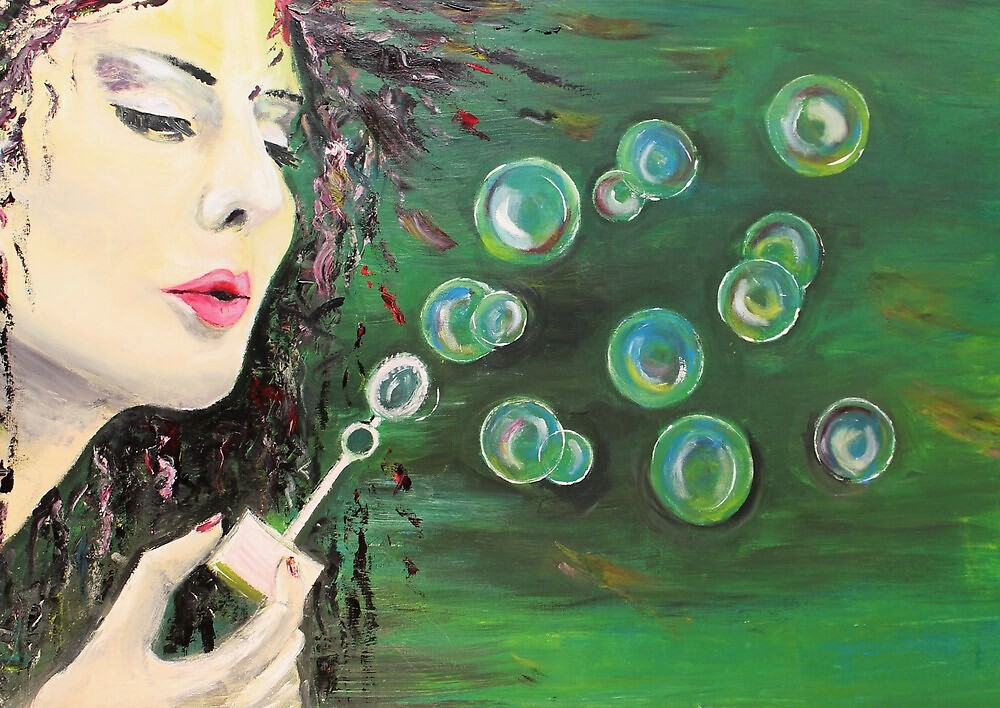 Bubbles by Astrid Strahm