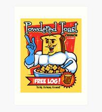 Powdered Toast Crunch Art Print