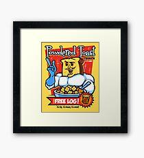 Powdered Toast Crunch Framed Print