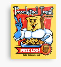 Powdered Toast Crunch Metal Print