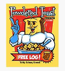 Powdered Toast Crunch Photographic Print