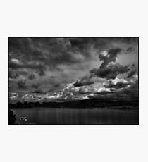 Rowboats and Clouds on Lake Watson Photographic Print
