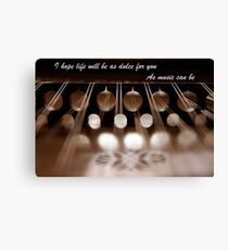 Hammered Dulcimer - As Sweet As Music Can Be Canvas Print