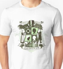 Grantham coat of arms (green) Unisex T-Shirt