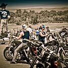 Full Throttle Saloon Parking Sturgis 2012 by David Owens