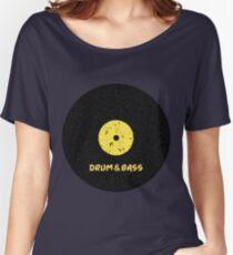 Drum & Bass (Vinyl) Women's Relaxed Fit T-Shirt