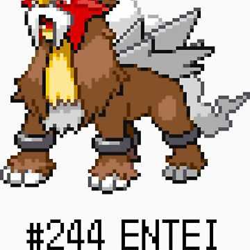 Entei Sprite Tee by CleverLorises