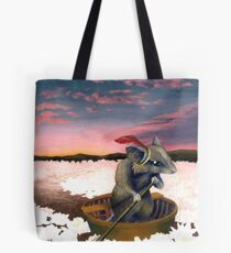 Reepicheep's Last Voyage (From Narnia) Tote Bag