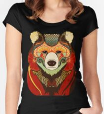 The Bear Women's Fitted Scoop T-Shirt