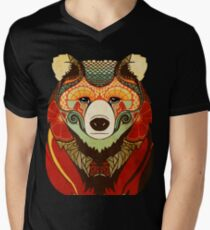 The Bear Men's V-Neck T-Shirt