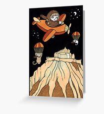 Elenors Empennage (Edinburgh Castle) Greeting Card