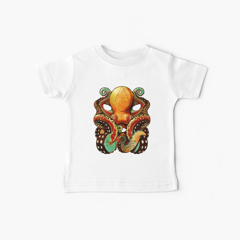 the octopus Baby T-Shirt