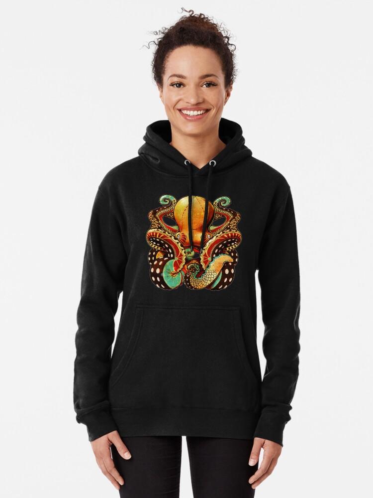 Alternative Ansicht von the octopus Hoodie