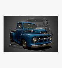1951 Ford F1 Pickup Truck Photographic Print