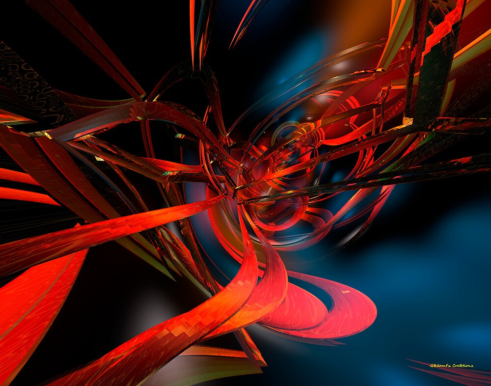 New Geometric Abstract Fx  by AdamF-X29