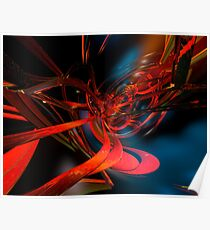 New Geometric Abstract Fx  Poster