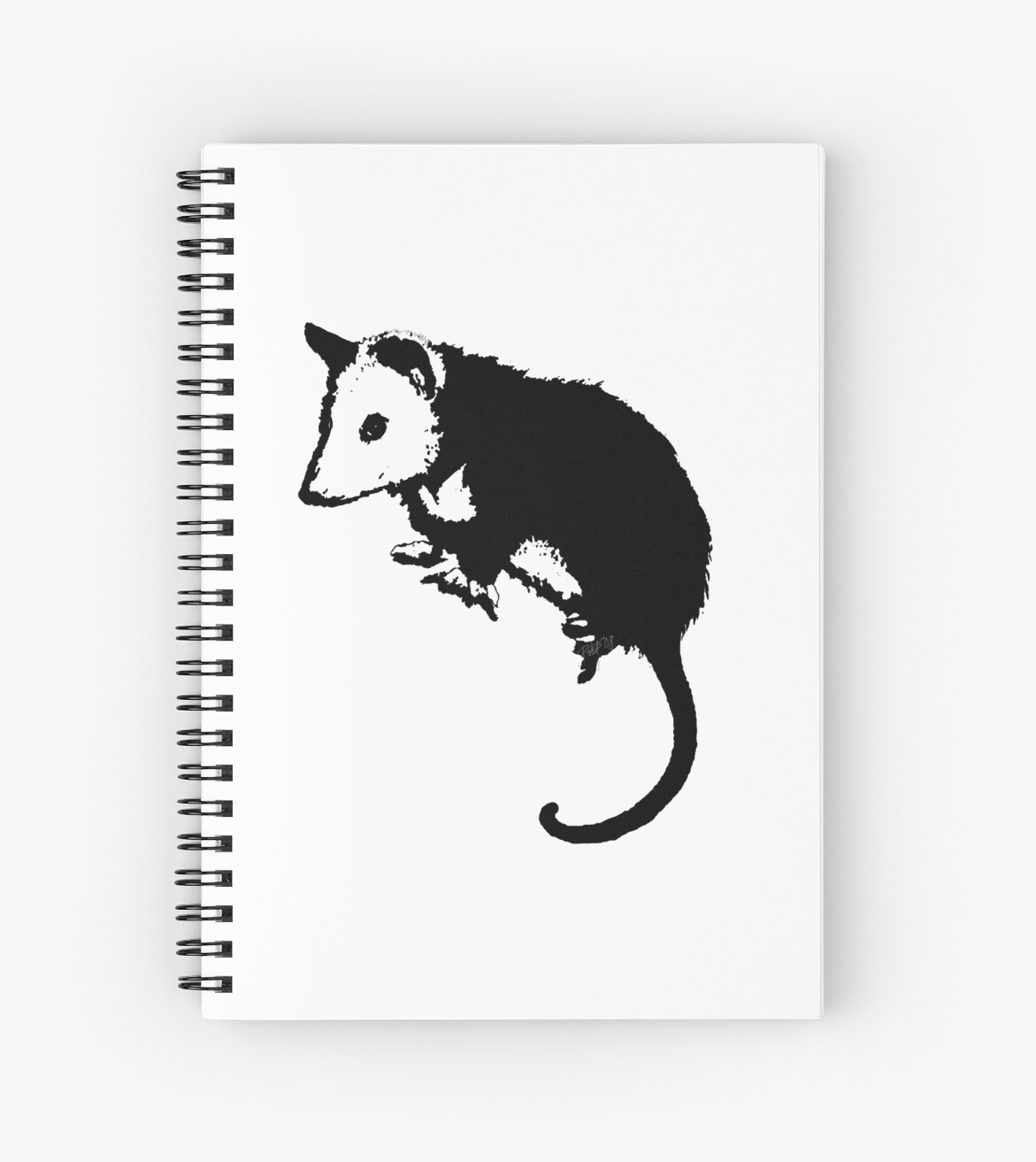 Possum Opossum Spiral Notebooks By Deleas Redbubble
