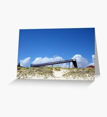 Horizon Clouds Four Greeting Card