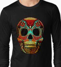 Grunge Skull No.2 Long Sleeve T-Shirt