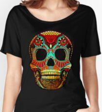 Grunge Skull No.2 Loose Fit T-Shirt