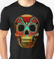 Camiseta ajustada Grunge Skull No.2