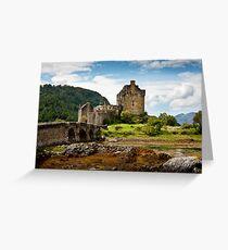 Eilean Donan, Loch Duich, Scotland Greeting Card