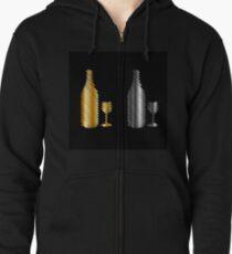 Beverage icon Zipped Hoodie