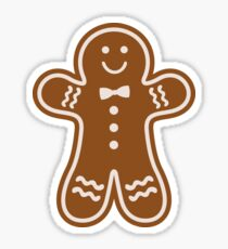 Gingerbread Hugs Sticker