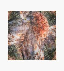 Designs Inspired By Nature: Red Tailed Hawk Scarf