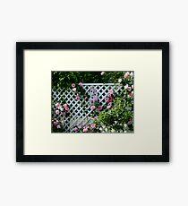 Rosalee Cottage Garden Framed Print