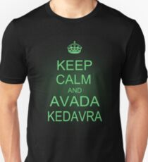 Keep Calm and Avada Kedavra Unisex T-Shirt