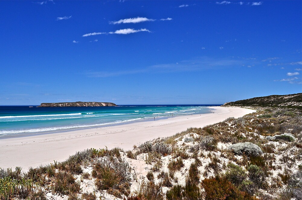 Golden Island and Almonta Beach by Ian Berry