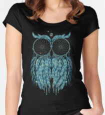 Owl Dream Women's Fitted Scoop T-Shirt