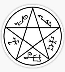 Supernatural devils Trap Symbol Sticker