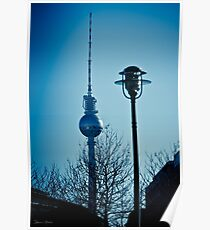 Berlin TV tower Poster
