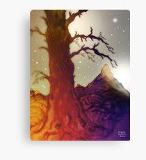 Fantasy Tree Pen Drawing Canvas Print