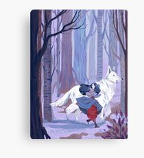 Luthien to the Rescue Canvas Print