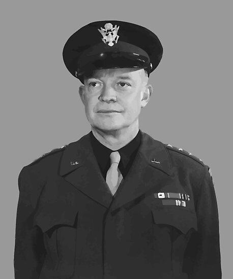 Dwight D. Eisenhower by warishellstore